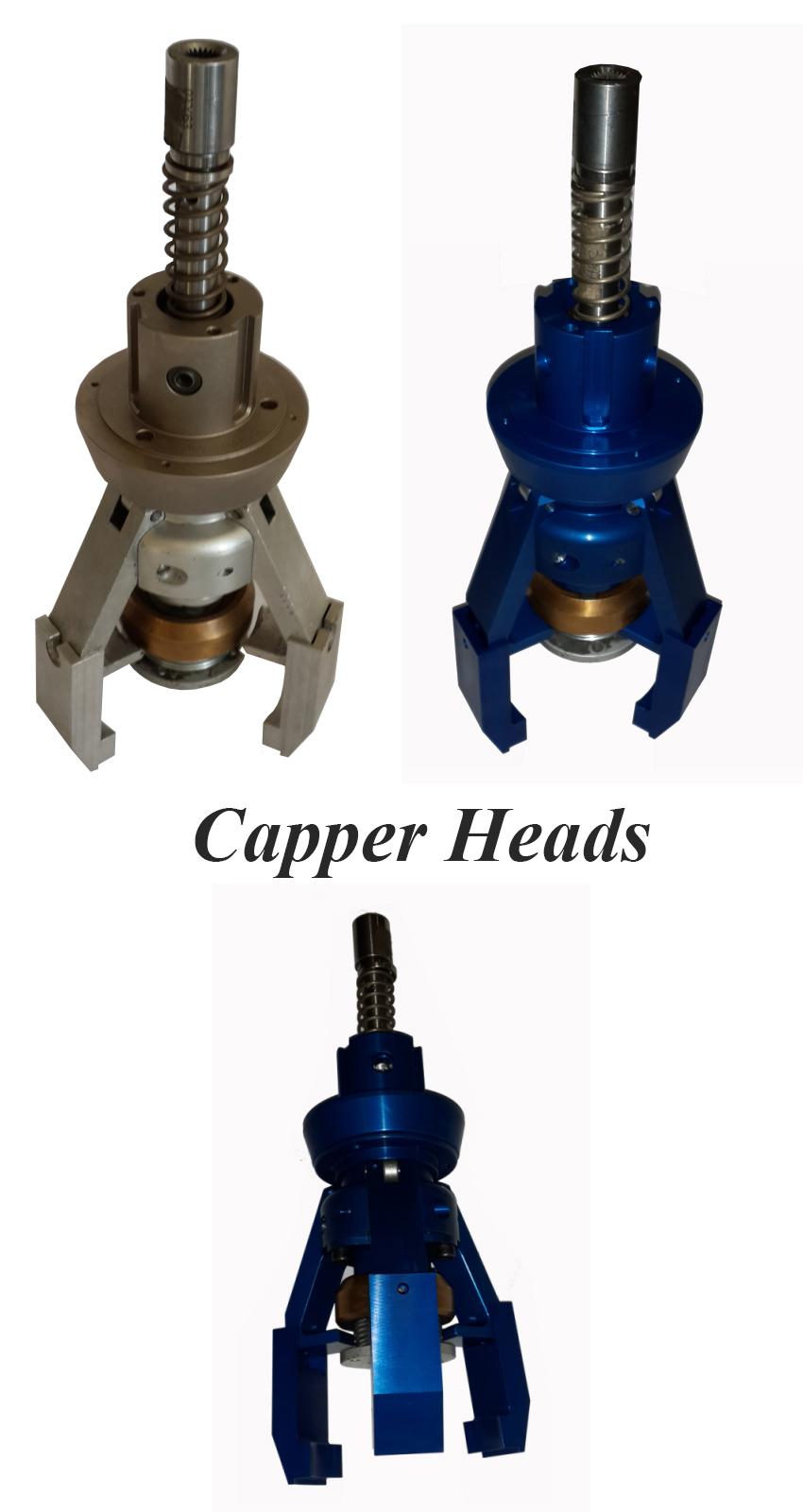 Trigger Capper Heads, Trigger Spray Inserter, Rotary Trigger Capper Head Parts