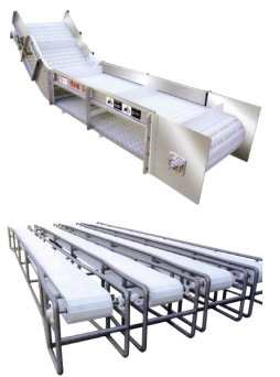 Modular Belt Conveyor, Bottling Line Modular Belt Conveyors