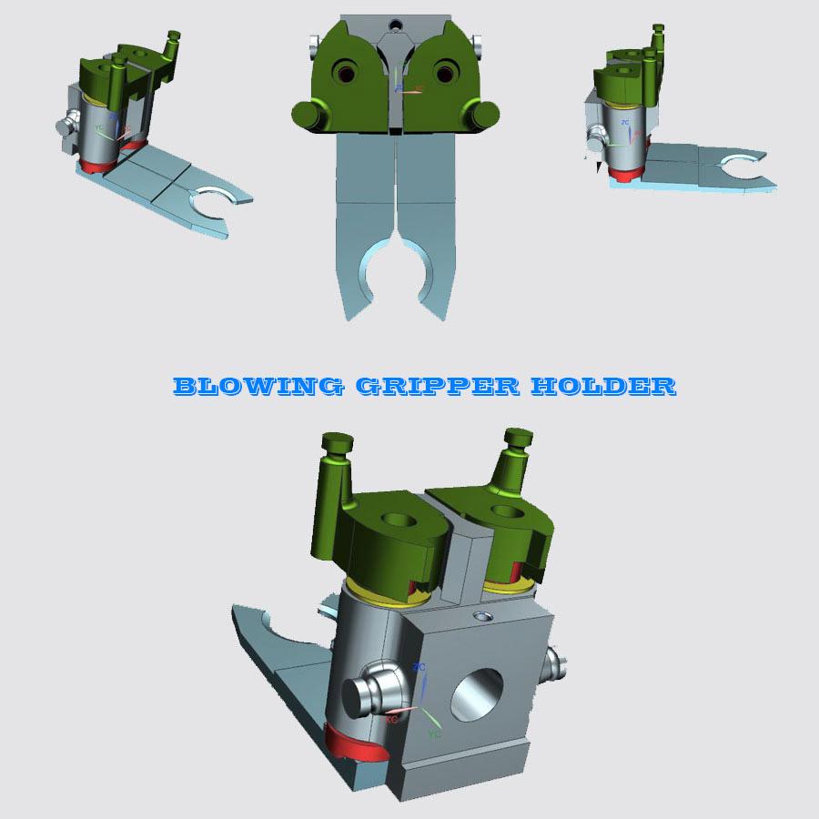 Blowing Pet Gripper, Bottle Blowing Machine Preform Gripper, Bottle blowing machine preform Gripper, Preform Gripper