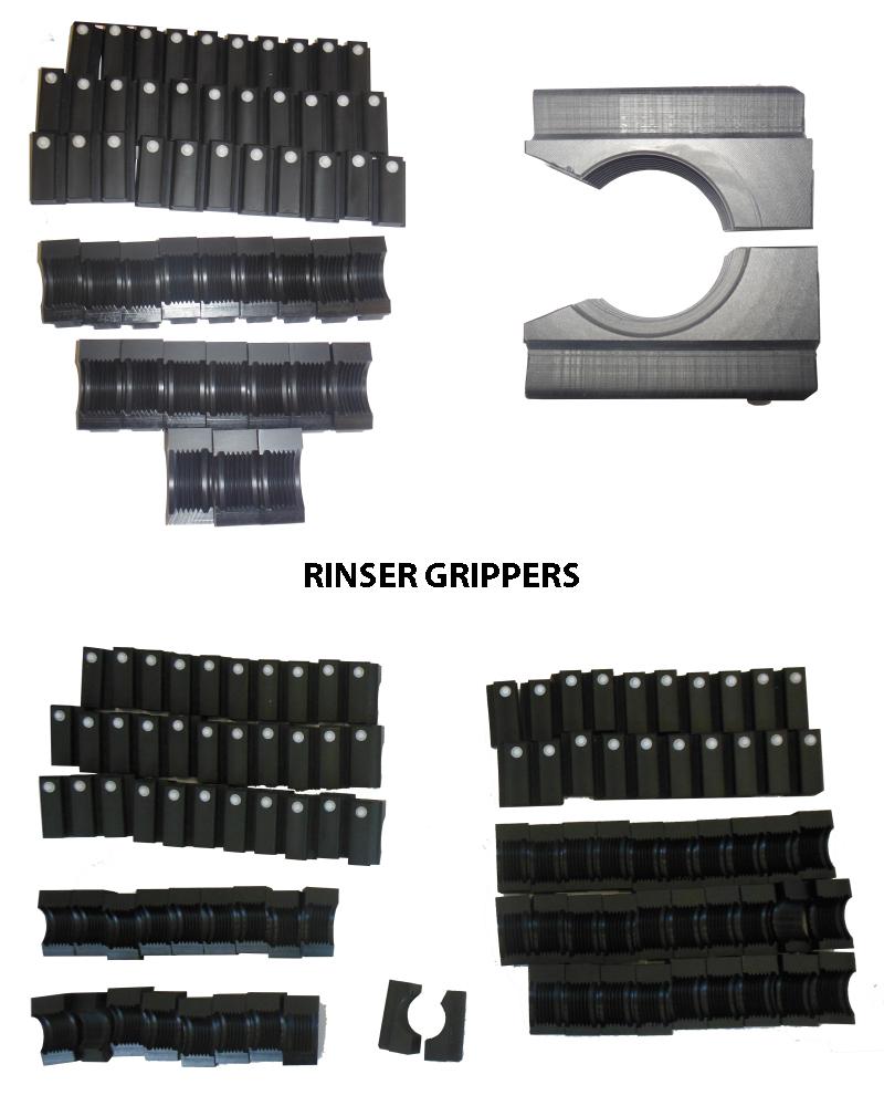 Bottle Rinser Gripper, Rinser Grippers, Rinser Gripper parts, Bottle Rinser Gripper OEM Parts