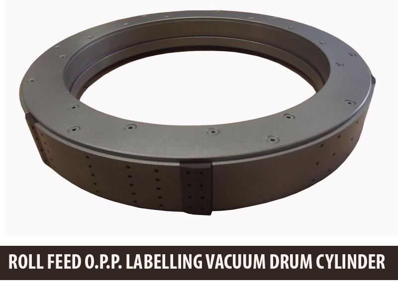 Vacuum Drum, Labeler Vacuum Drum, Labelling Vacuum Drum Change Parts, Labeler vacuum drum, OPP Labeller Vacuum Drums
