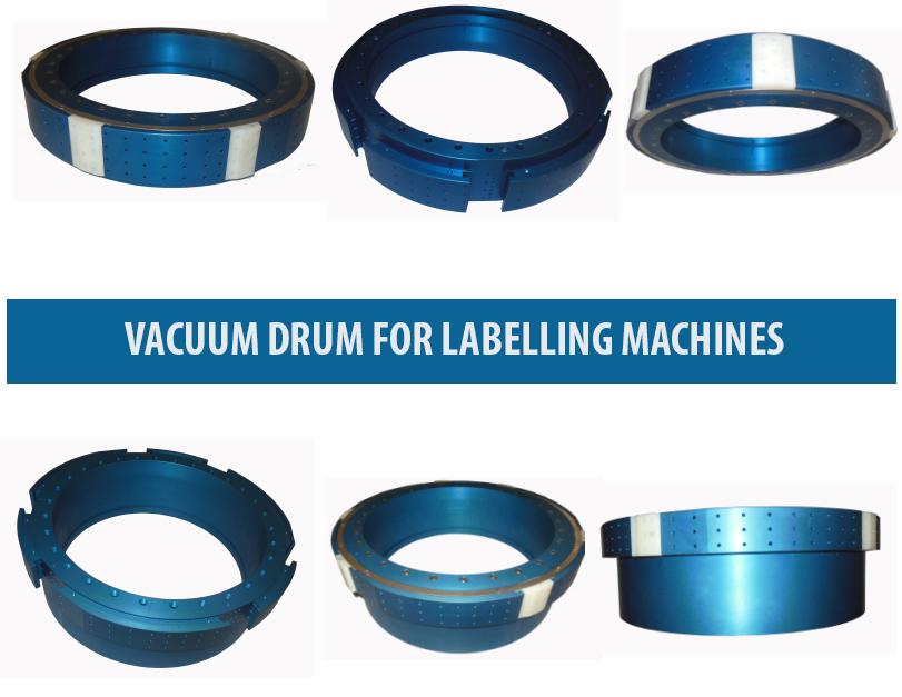 Vacuum Drum , OPP Labelling Machine Vacuum Drums, Roll-Fed Labelling Vacuum Drum, OPP Labeller Vacuum Drum