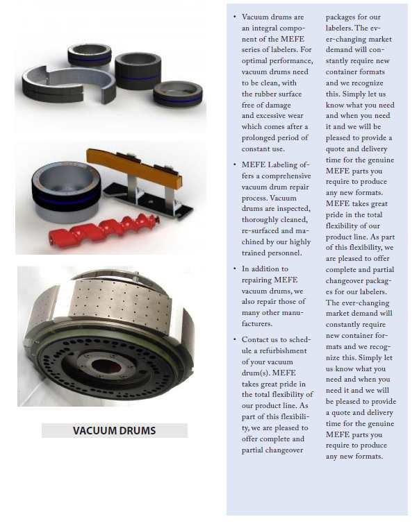 Labeller Vacuum Drum, Labelling Vacuum Drum, Bottle Labelling Vacuum drums