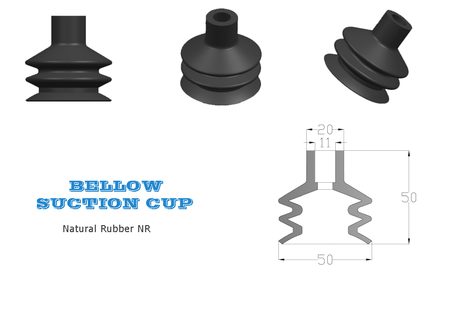 Bottling Line Bellow Suction Cup, Bellows Suction Cup, Bottling Line Bellow Suction Cup